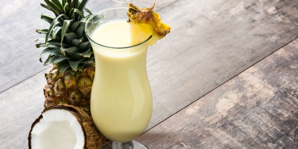 A picture containing beverage, fruit drink, milk  Description automatically generated